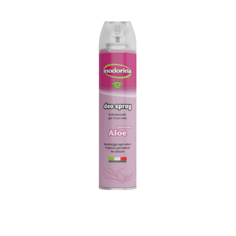 INODORINA DEO SPRAY ALOE 300 ML.