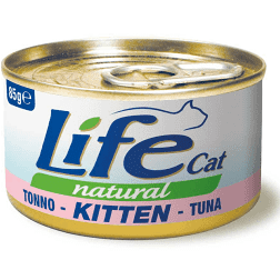 LIFE CAT TONNO KITTEN 85 GR