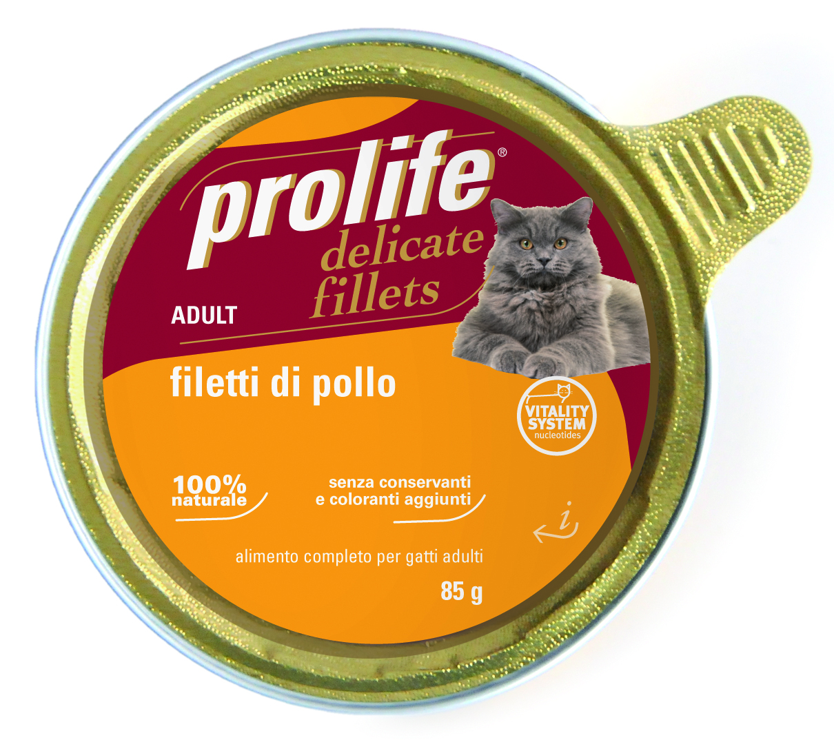PROLIFE GATTO DELICATE FILLETS FIL DI POLLO 85 G