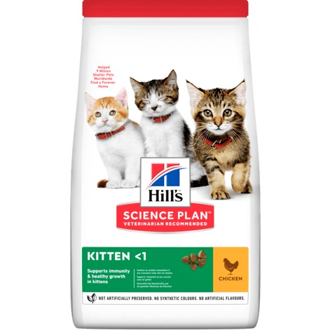 HILL S GATTO KITTEN POLLO