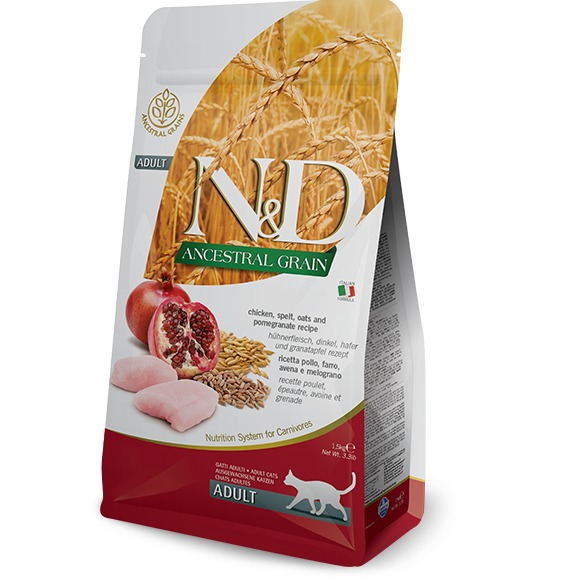 FARMINA NED ANCESTAL GRAIN GATTO ADULT AGNELLO E MIRTILLO