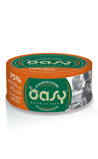 OASY MORE LOVE PETTO DI POLLO 70 GR