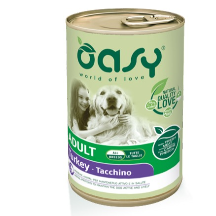 OASY ADULT TACCHINO 400 GR