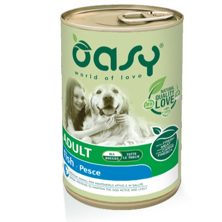 OASY ADULT PESCE 400 GR