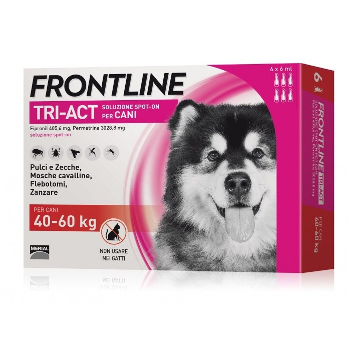 FRONTLINE TRIACT 40 60 6 PIPETTE