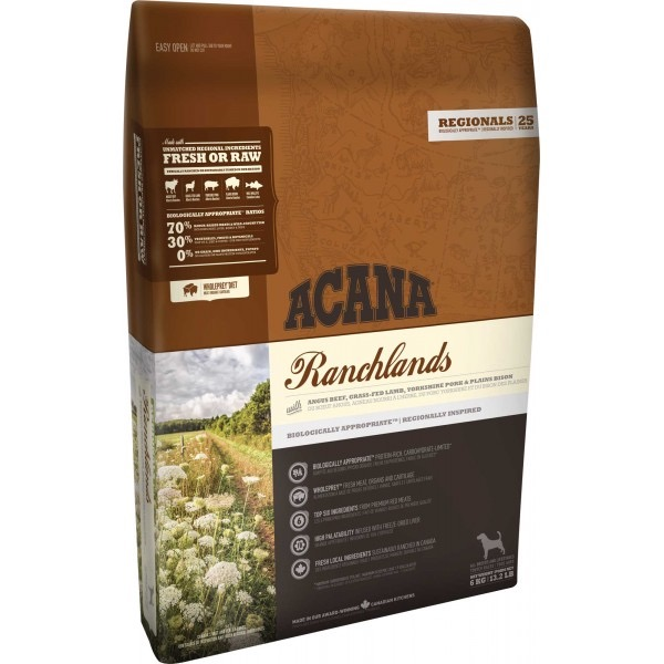 ACANA DOG RANCHLANDS 11,4 KG
