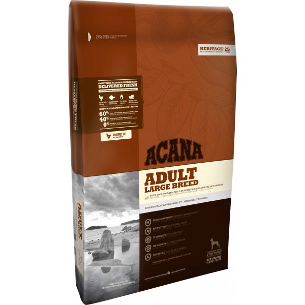 ACANA DOG HERITAGE ADULT LARGE BREED 11.4 KG