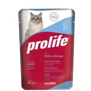 PROLIFE ADULT POLLO E ARINGA 85GR