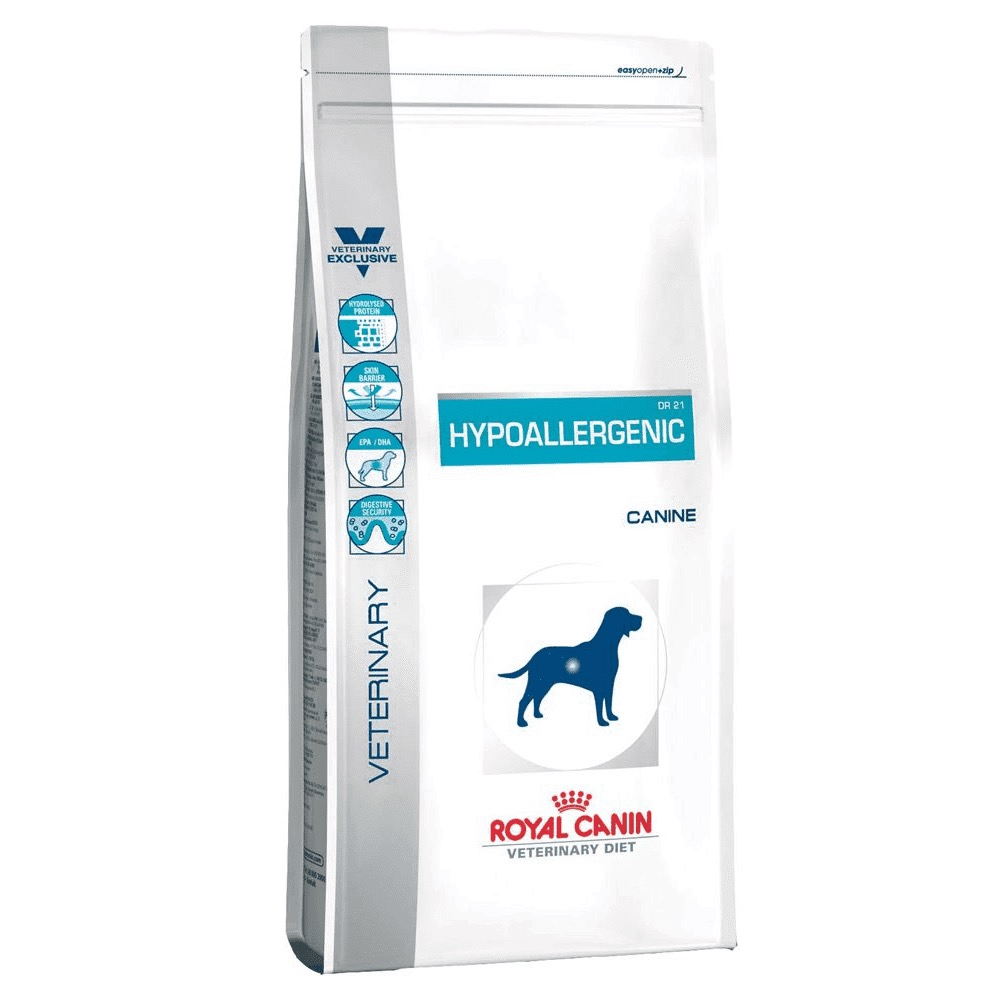 ROYAL HYPOALLERGENIC  DR 21