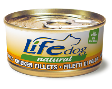 LIFE FILETTI POLLO CON VERDURE 170GR
