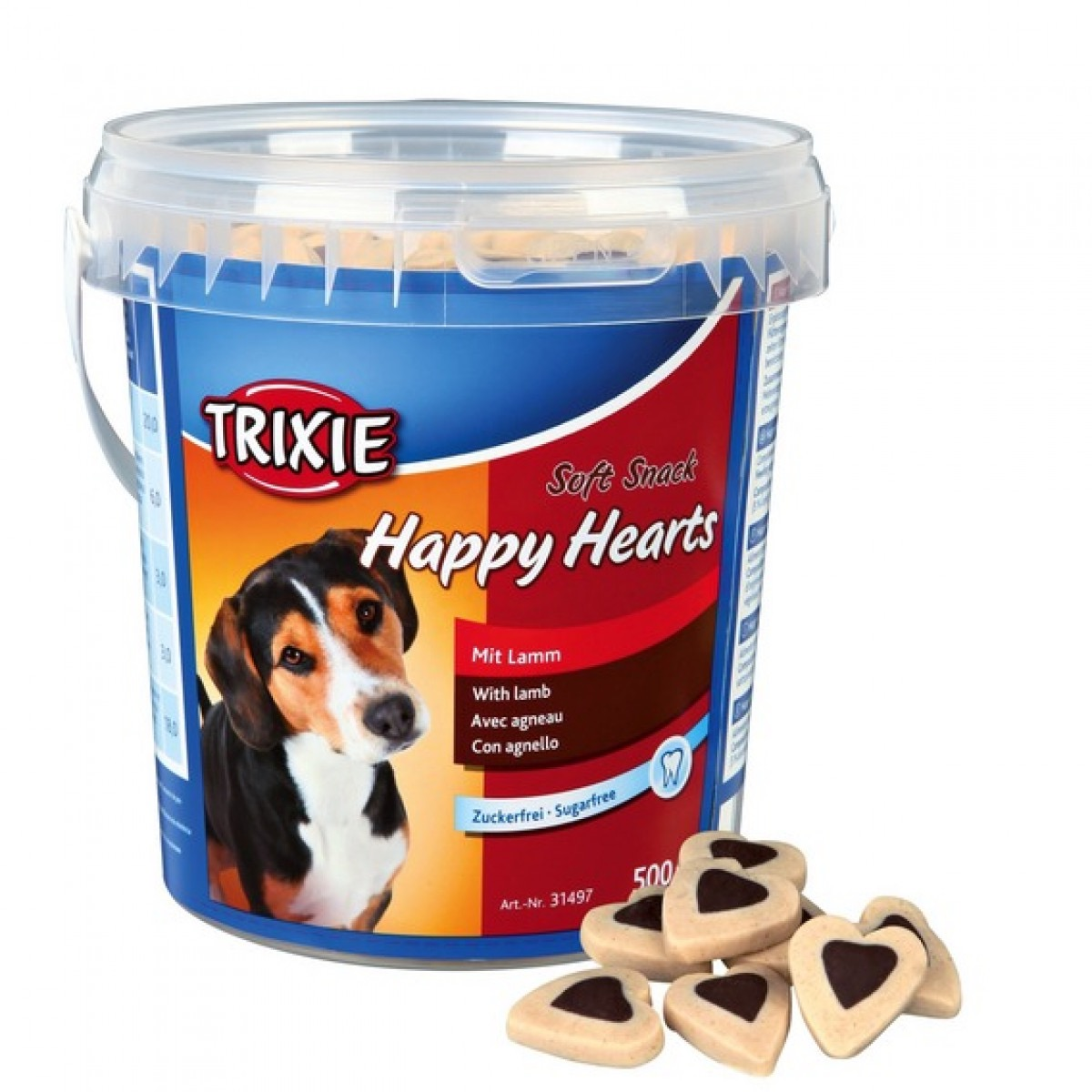TRIXIE SOFT SNACK HAPPY HEARTH  500 GR