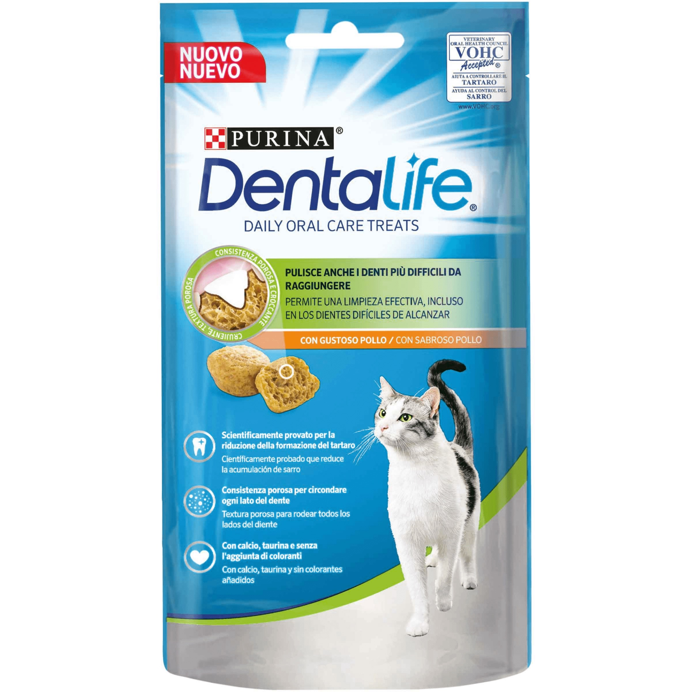 PURINA DENTALIFE GUSTO POLLO 40 GR