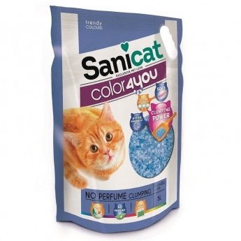 SANICAT COLOR4YOU BLUE 5 L