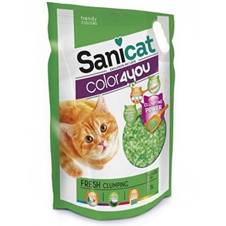 SANICAT COLOR4YOU GREEN 5 L.