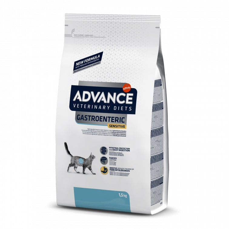 ADVANCE GATTO GASTROENTERIC SENSITIVE 1,5 KG