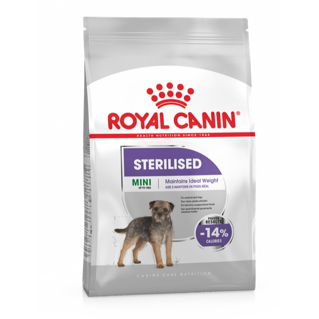 ROYAL CANE MINI STERILIZZATO