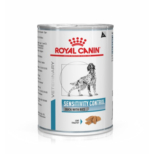 ROYAL CANIN CANE 400G SENSITIVITY CONTROL DUCK E RICE