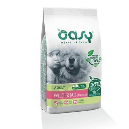 OASY ADULT CINGHIALE 12 KG