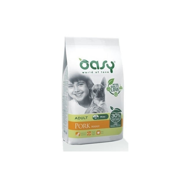 OASY CANE ADULT MINI MAIALE 2,5 KG