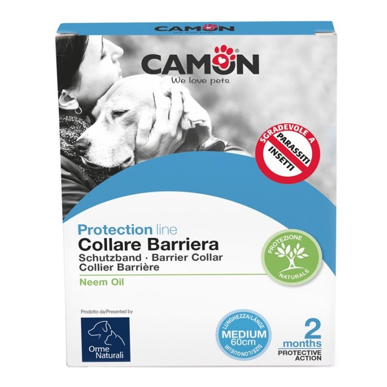 COLLARE BARRIERA OLIO DI NEEM MEDIUM 60CM