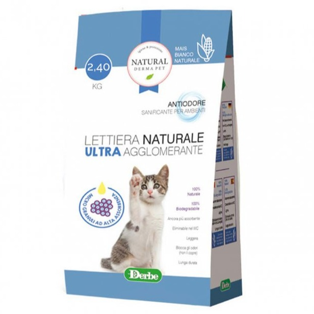 LETTIERA DERMA PET ULTRA 2.4 KG