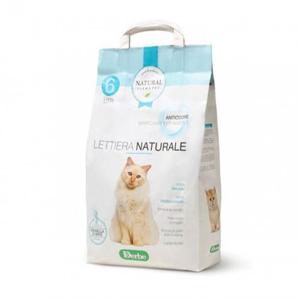 NATURAL DERMA PET LETTIERA ANTIODORE 6 LT