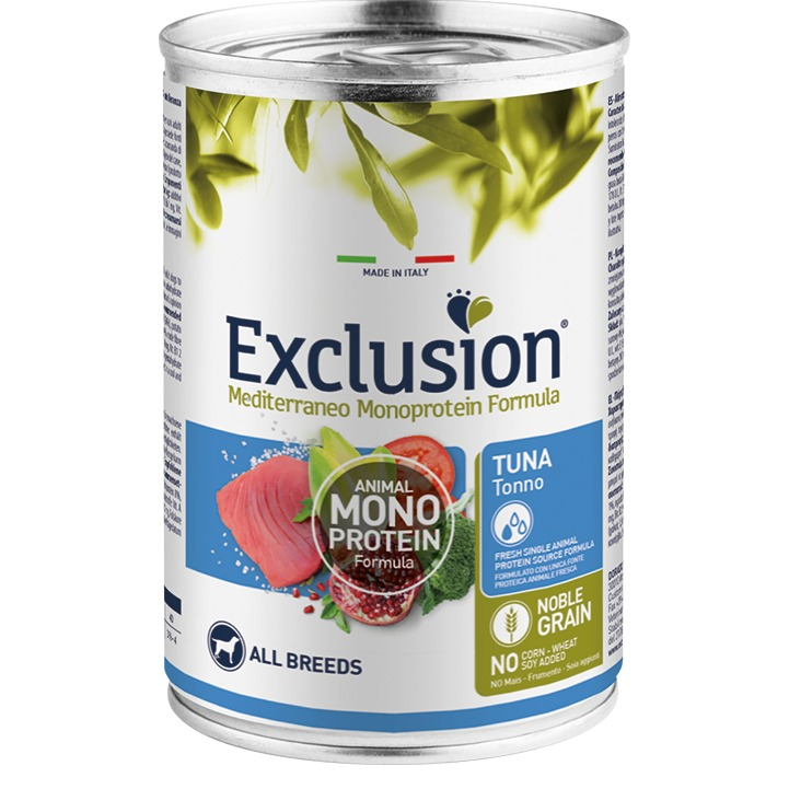 EXCLUSION ADULT FISH ALL BREEDS  400 GR