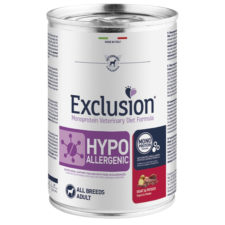 EXCLUSION HYPO GOAT AND POTATO 400GR